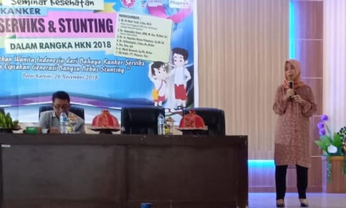 Kanker Serviks dan Stunting Jadi Tema Seminar HKN ke-54 di Kab. Bantaeng