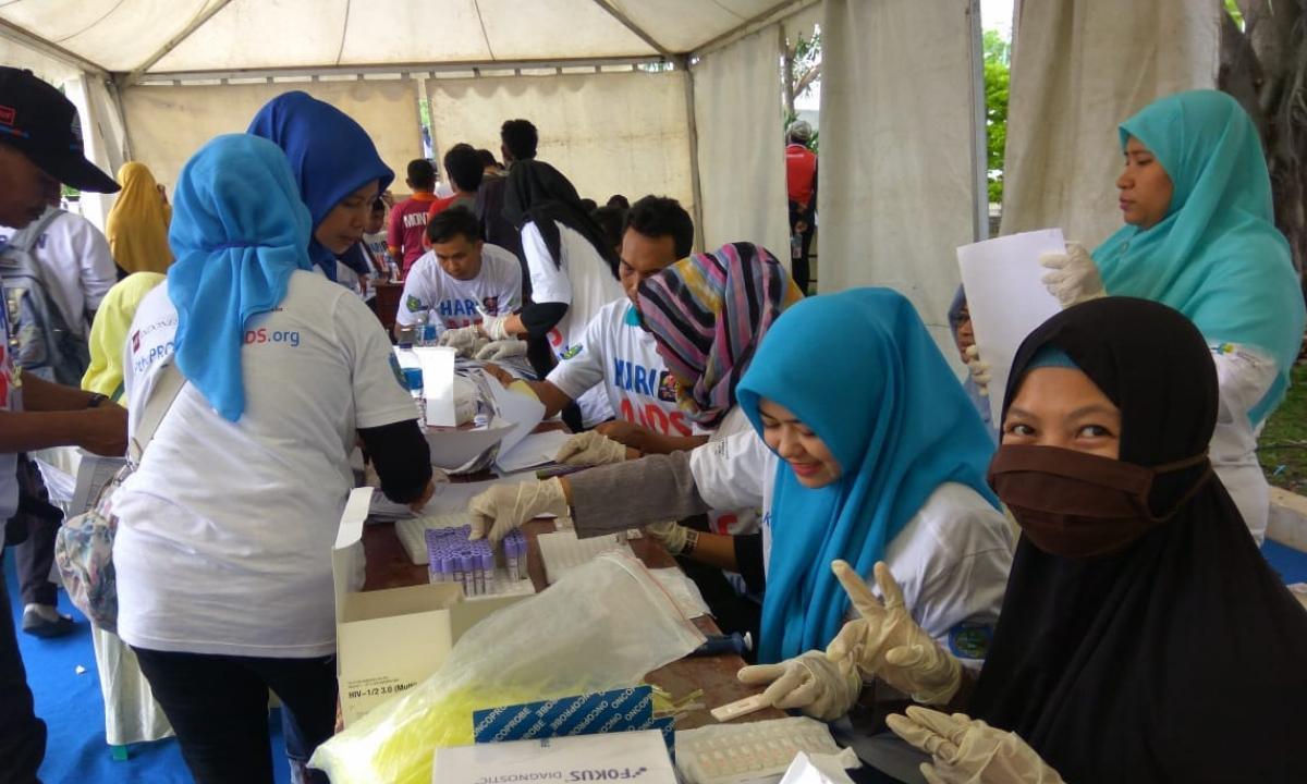 Pemeriksaan Kesehatan di HAS 2018 Indramayu