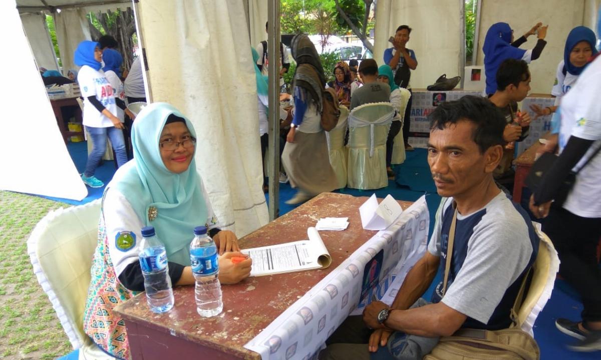 Puskesmas Krangkeng turut daam HAS 2018 di Indramayu