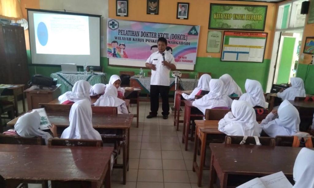 Pelatihan Dokter Kecil Puskesmas Margadadi Indramayu