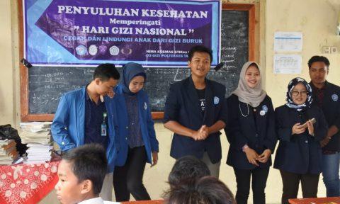Peringati Hari Gizi Nasional, Himakesmas STIKes Cirebon Berikan Penyuluhan ke Siswa SD