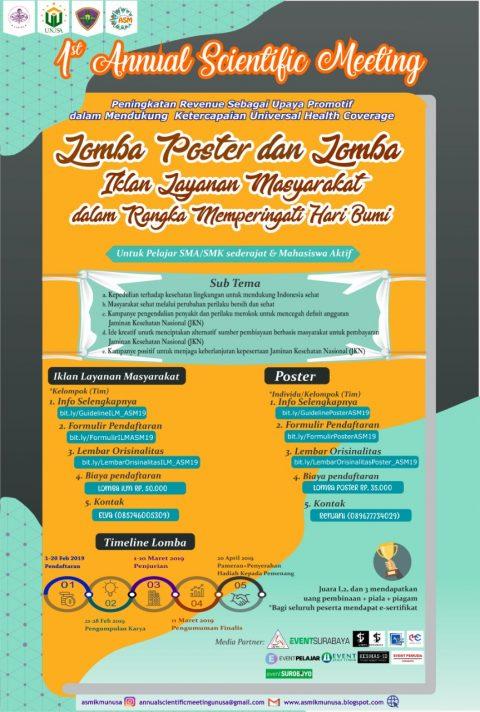 Lomba Poster & Lomba Video Iklan Layanan Masyarakat UNUSA