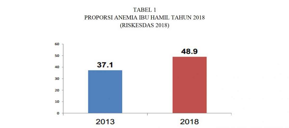 proporsi anemia ibu hamil 2018