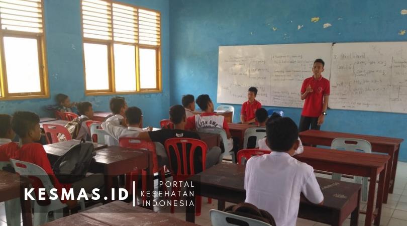 Kader Anti Rokok Remaja Kecamatan Pulau Merbau