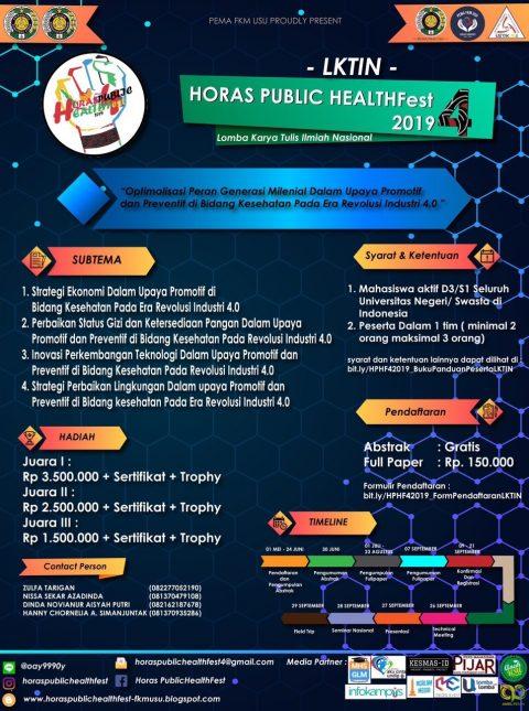 HORAS PUBLIC HEALTHFest 4 FKM USU
