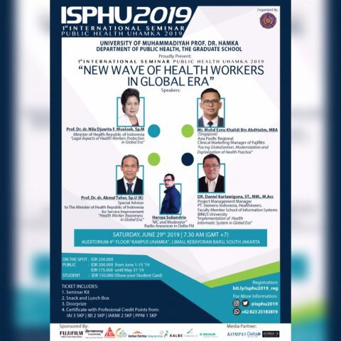 International Seminar Public Health UHAMKA 2019