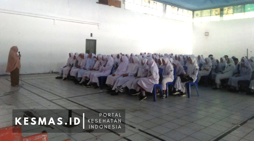 PKM Kalosi Sosialisasi DAGUSIBU & Tanya 5 O di SMKN 1 Enrekang