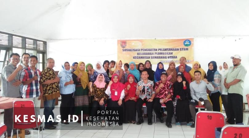 Penguatan STBM, FKK Semarang Utara Gandeng WC4All dan Puskesmas