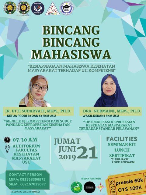 Yuk Ikutan Seminar Mahasiswa FKM USU Ini!