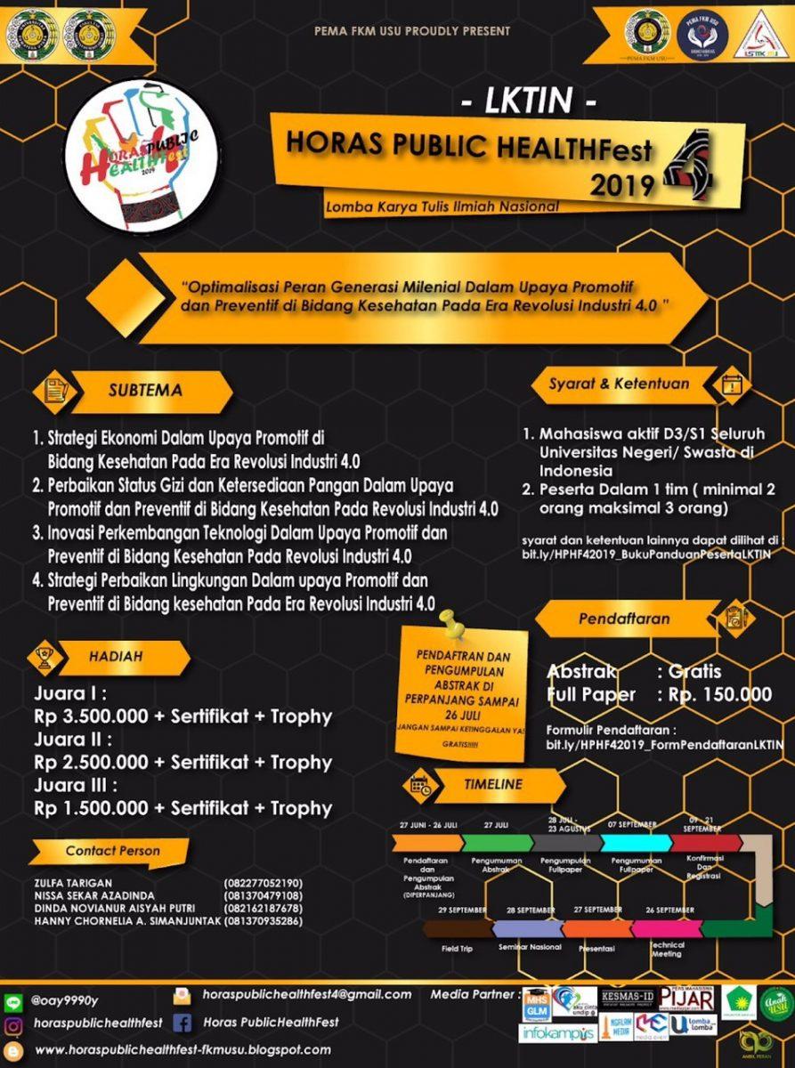HORAS PUBLIC HEALTH Fest 4 Diperpanjang