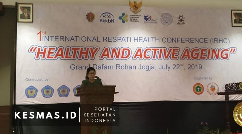 Healthy and Active Ageing, International Respati Health Conference 2019 Sukses Digelar