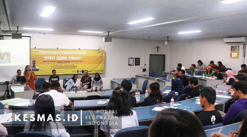 Kampanye PTM, Magister Ilmu Komunikasi Atma Jaya Jogja