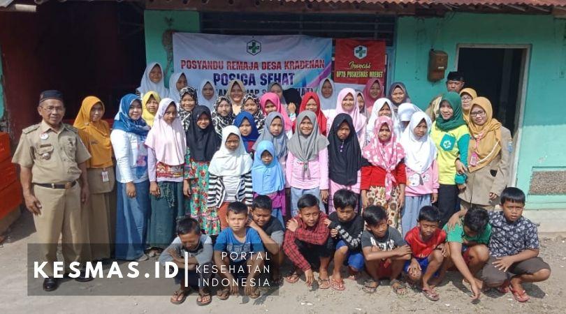 Launching POSIGA SEHAT Posyandu Remaja Desa Kradenan