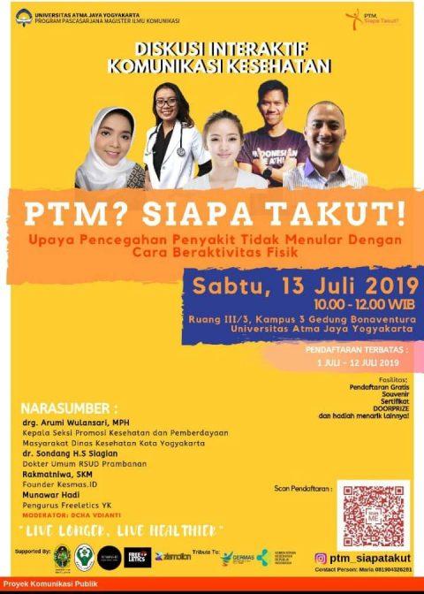 PTM Siapa Takut, Seminar Bersama Kesmas-ID
