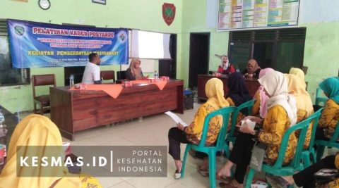 Puskesmas Cidempet Latih Kader Posyandu Baru di Desa Arahan Kidul