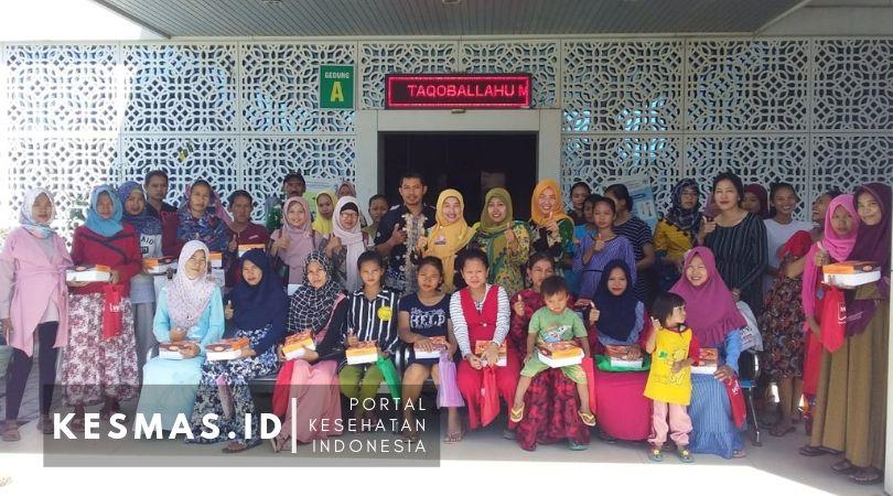 Puskesmas Kertawinangun Sosialisasi PMTP Makanan Lokal di Eretan Wetan