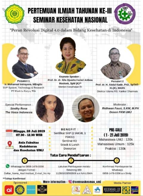 seminar nasional manajemen rs fkm umj 2019