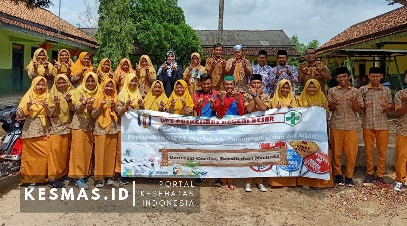 Penyuluhan NAPZA Puskesmas Negeri Besar Lampung