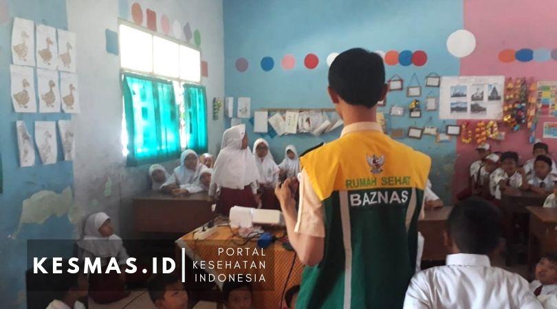 Program Anak Sekolah Sehat, RS Baznas Sidoarjo Edukasi Bahaya Rokok