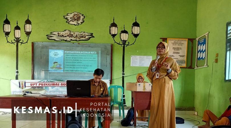 Promkes Puskesmas negeri Besar Way Kanan Lampung