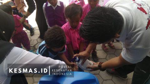 CTPS dan Kampanye Sikat Gigi Massal di TK PAUD Sekecamatan Lantung