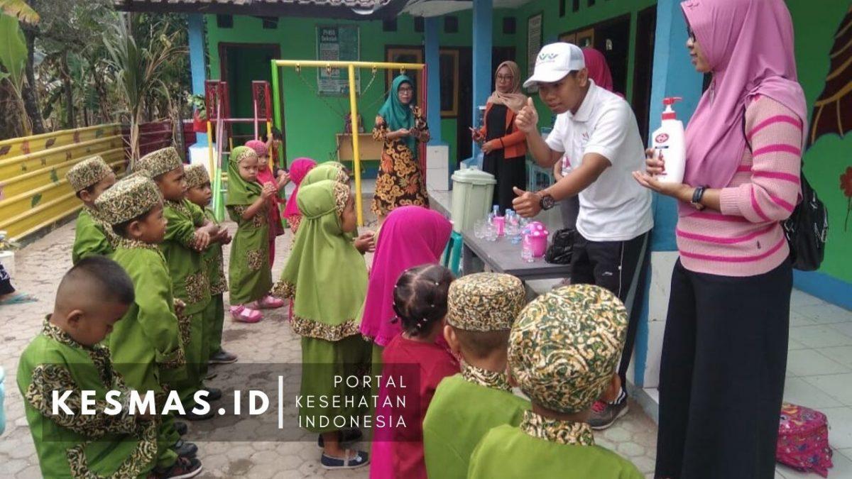 Kampanye Sikat Gigi dan CTPS di TK PAUD se Kecamatan Lantung