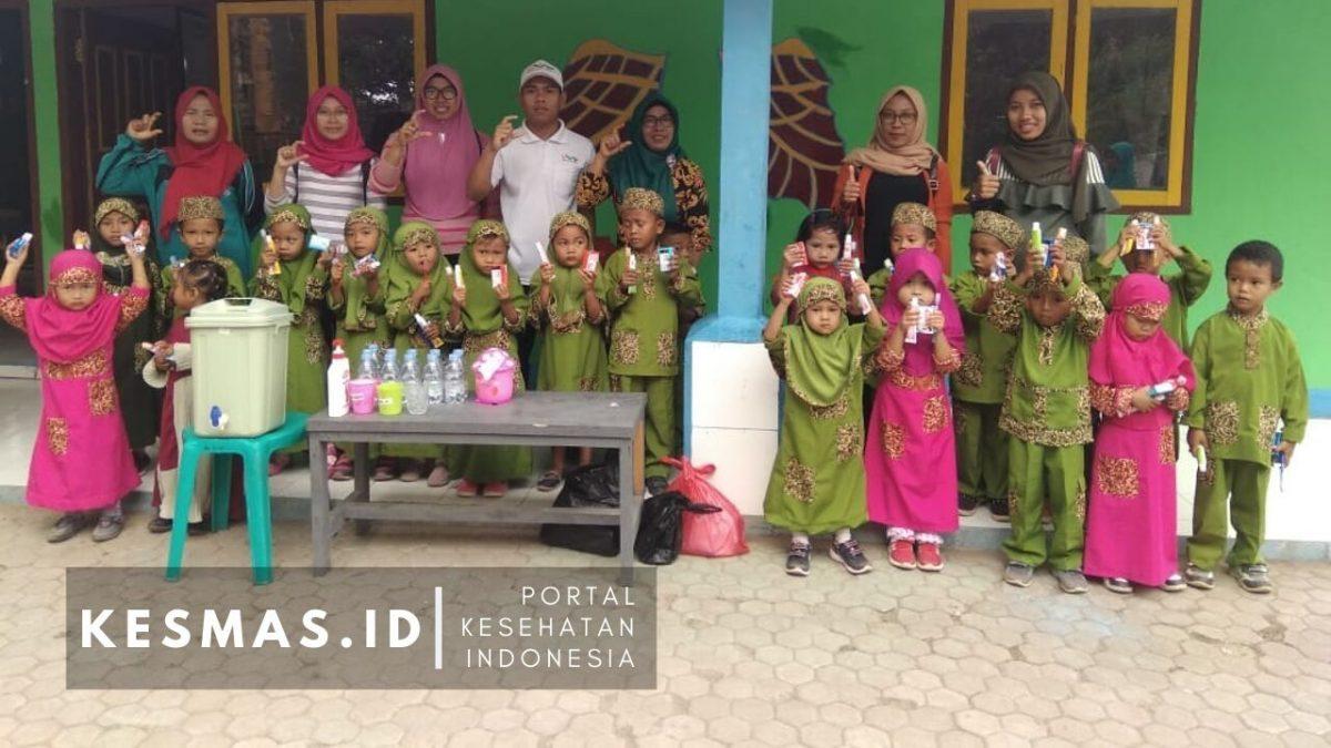 Kampanye Sikat Gigi di TK PAUD se Kecamatan Lantung
