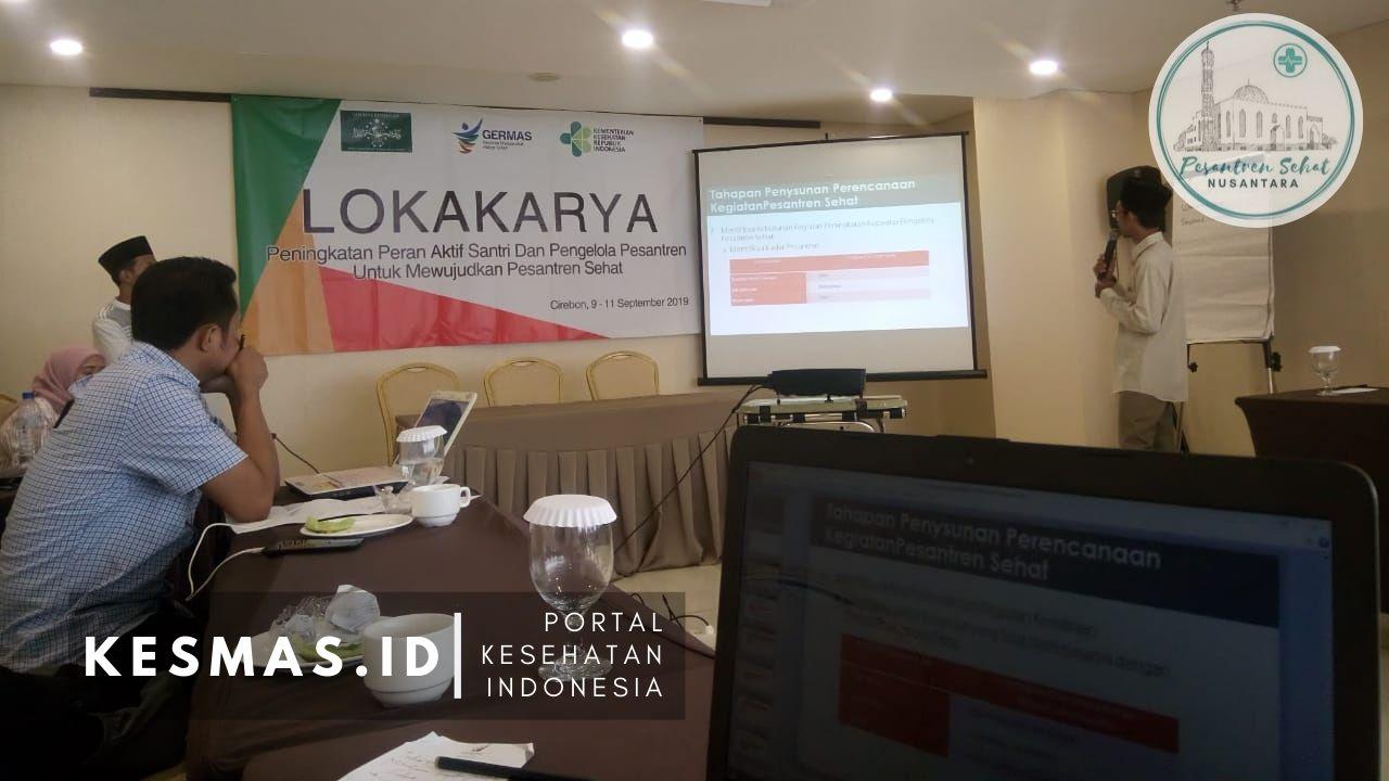 Materi Penguatan Pesantren Sehat di Cirebon