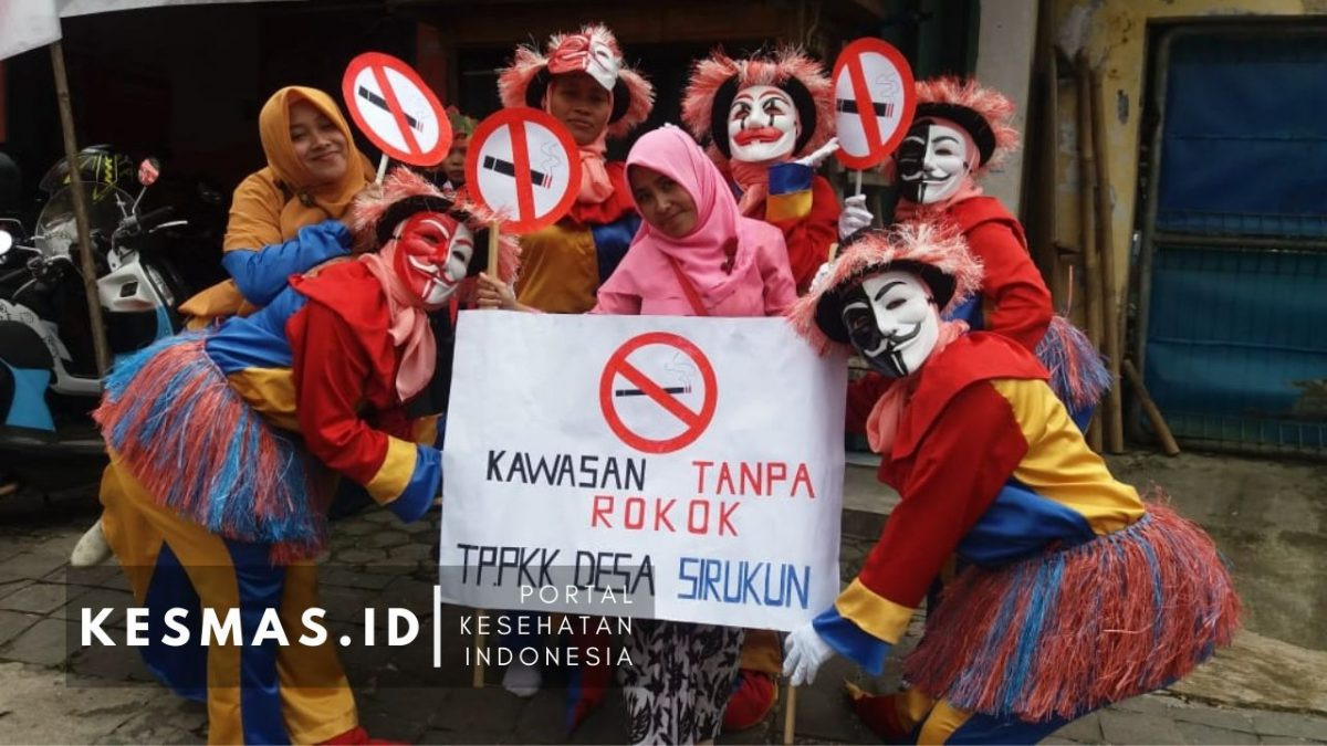 Puskesmas Kalibening Sosialisasikan KTR Didukung Lintas Sektoral