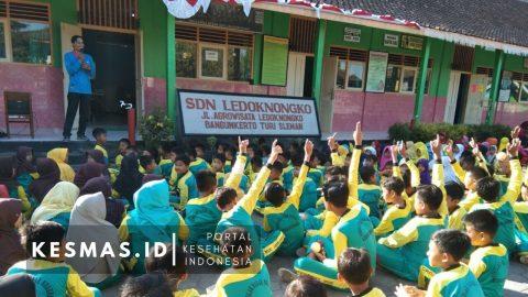 Puskesmas Turi Edukasi PHBS 250 Siswa & Para Guru SD Ledoknongko