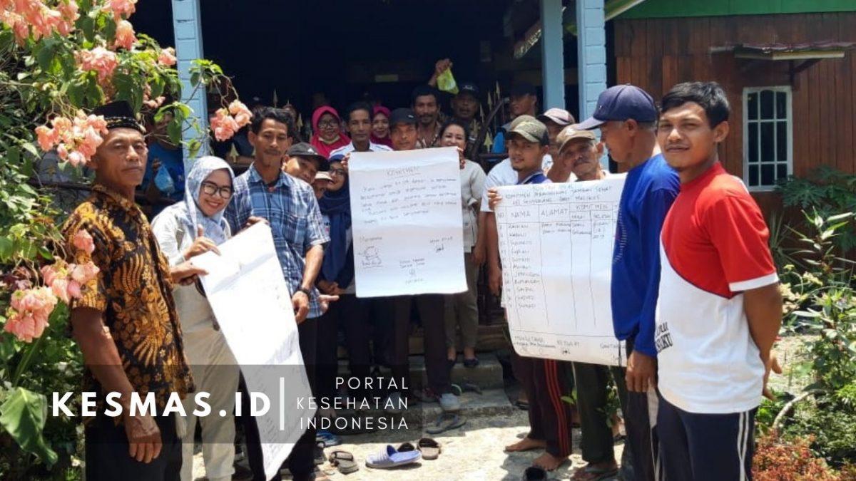 STBM, Puskesmas Senyerang Wujudkan Masyarakat Bebas BABS Lewat Arisan Jamban
