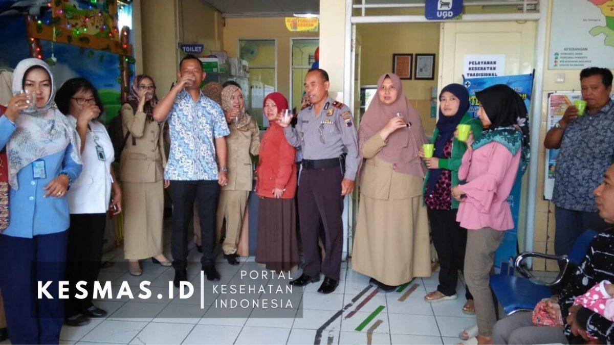 Gandeng PDAM Kabupaten Semarang, Puskesmas Jambu Luncurkan Teko Ajaib