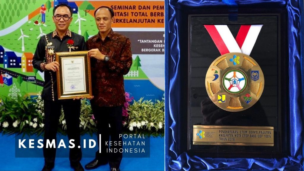 Kabupaten Way Kanan Sabet Penghargaan dari Kemenkes