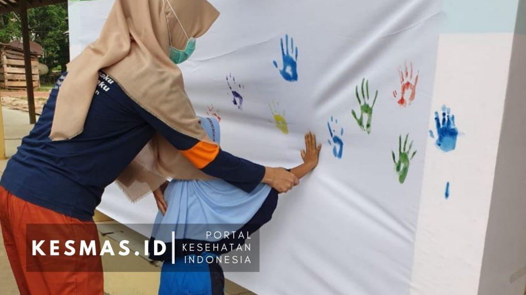 Peringatan Hari Cuci Tangan Sedunia Kotim 2019