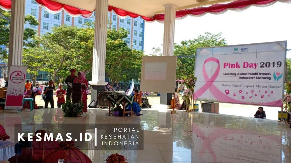 Pink Day 2019, Pemkab Bantaeng Launching Asuhan Paliatif Terpadu