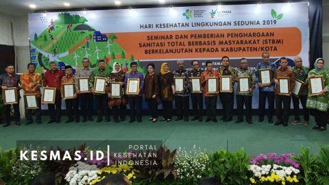 Program ODF di 20 Puskesmas Way Kanan, Sabet Penghargaan Nasional