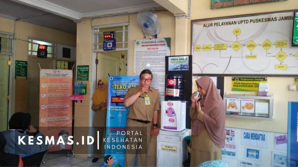 Teko Ajaib Puskesmas Jambu Kab Semarang