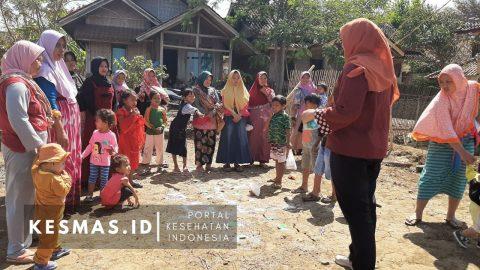 Wujudkan ODF, Puskesmas Mekarmukti Lakukan Pemicuan STBM Pilar I