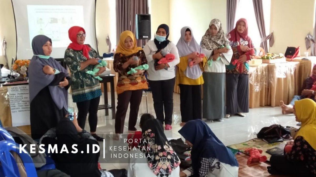 Cegah Stunting, Dinkes Kabupaten Bangka Gelar Orientasi PMBA