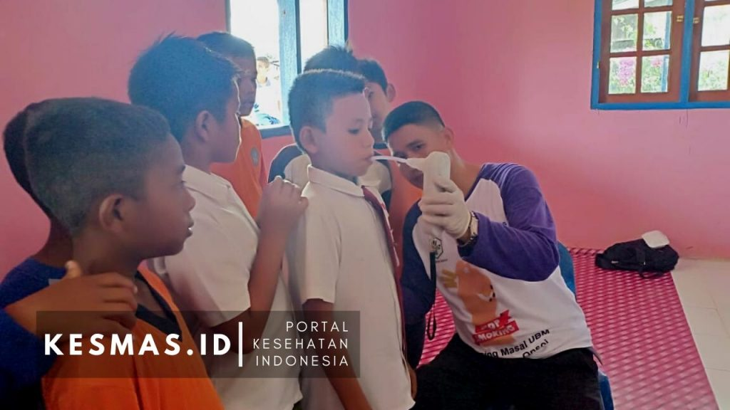 Screening massal pelajar Tulin Onsoi