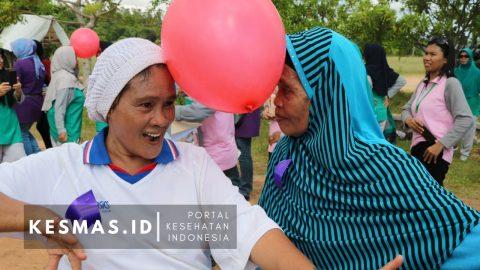 195 Lansia Ikuti Out Bond di Pantai Amal Kota Tarakan