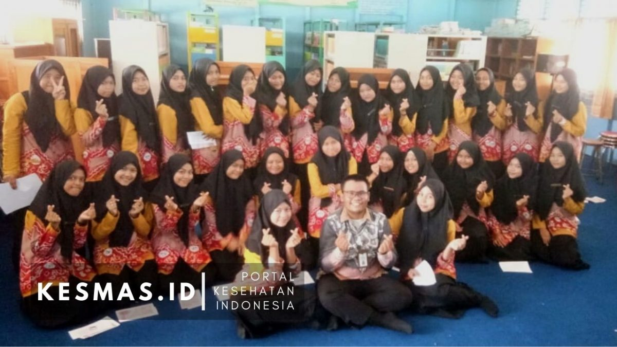 Cegah Anemia Pada Remaja Putri, Puskesmas Kelayan Timur Kunjungi SMAN 9 Banjarmasin
