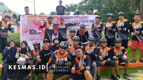 HAS 2019, Passapeda Enrekang Peduli AIDS