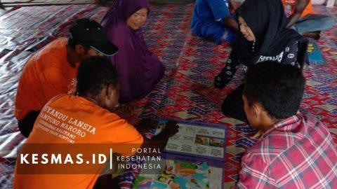Intip Keseruan Posyandu Lansia KOMPAK di Ujung Teluk Bintuni