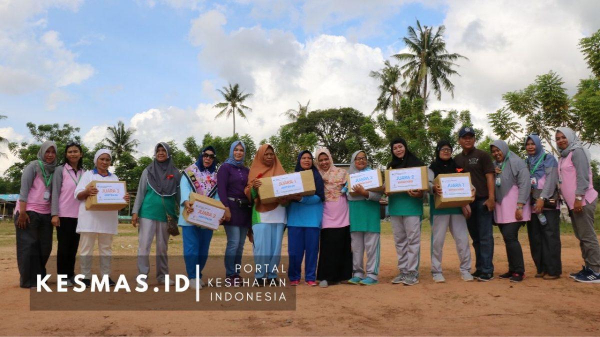 Lansia Sehat Bersama Kader Posyandu Puskesmas Karang Rejo Tarakan