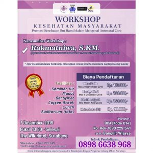 workshop surabaya