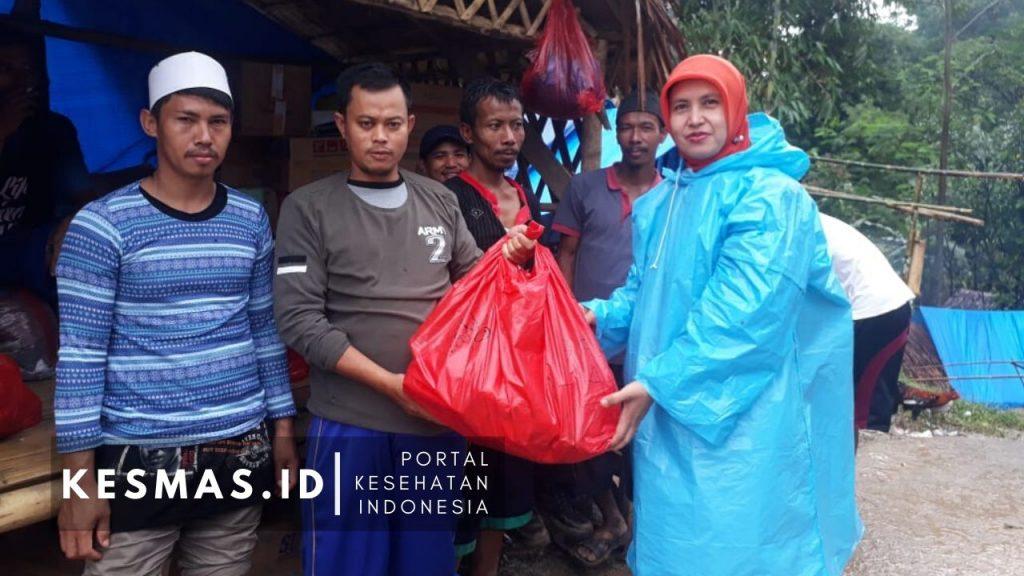Bantuan dari HAKLI Bogor untuk korban bencana