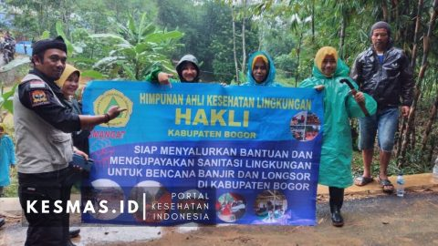 Himpunan Ahli Kesehatan Lingkungan (HAKLI) Kabupaten Bogor Peduli Bencana