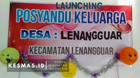 Launching Posyandu Keluarga Desa Lenangguar