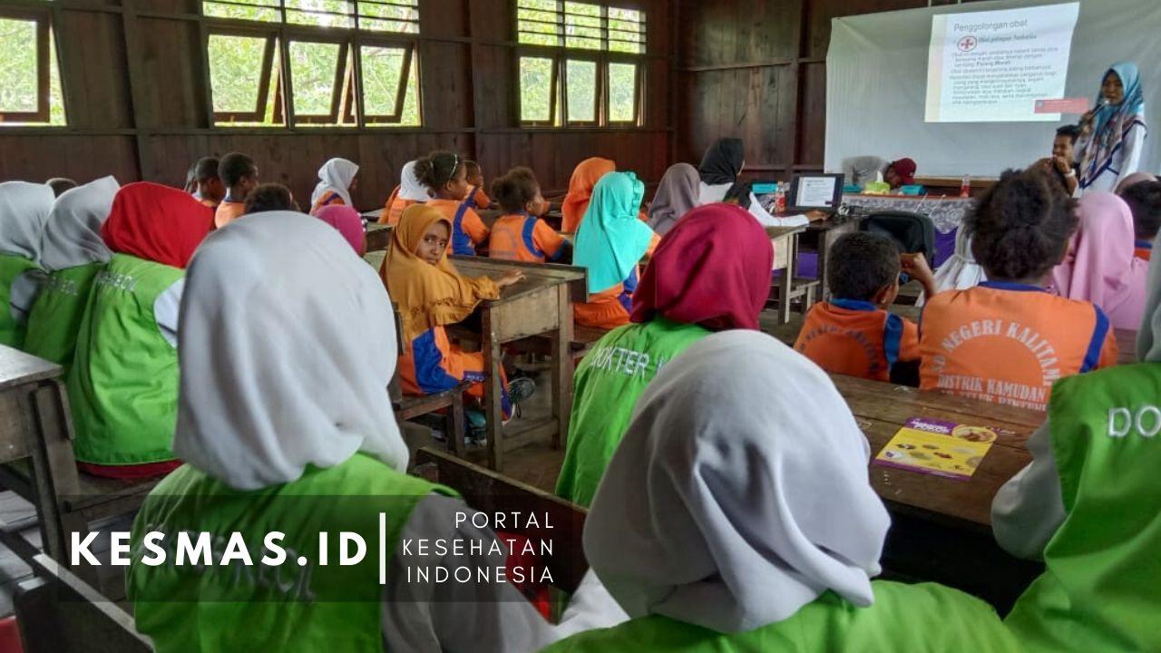SD Negeri Kalitami Gandeng Puskesmas Kalitami Beri Pelatihan Dokter Kecil